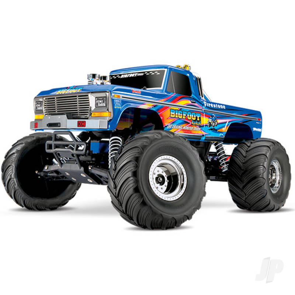 Retro Bigfoot No.1 1:10 Officially Licensed Replica Monster Truck RTR (+ TQ, XL-5, 7-Cell NiMH 3000mAh)