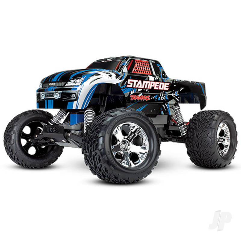 Blue Stampede 1:10 Monster Truck (+ TQ)