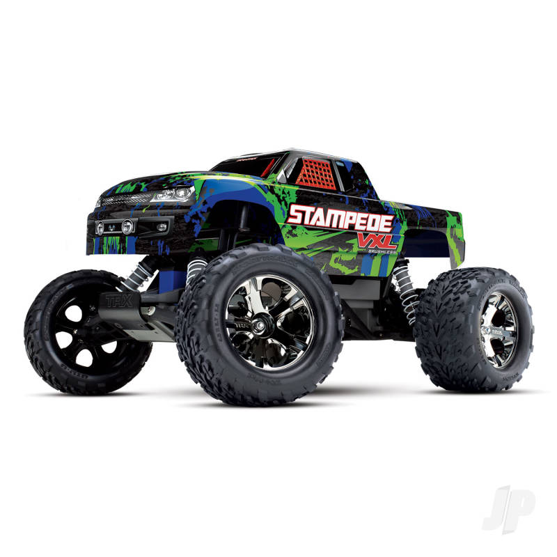 Green Stampede VXL 1:10 Monster Truck (+ TQi ,TSM)