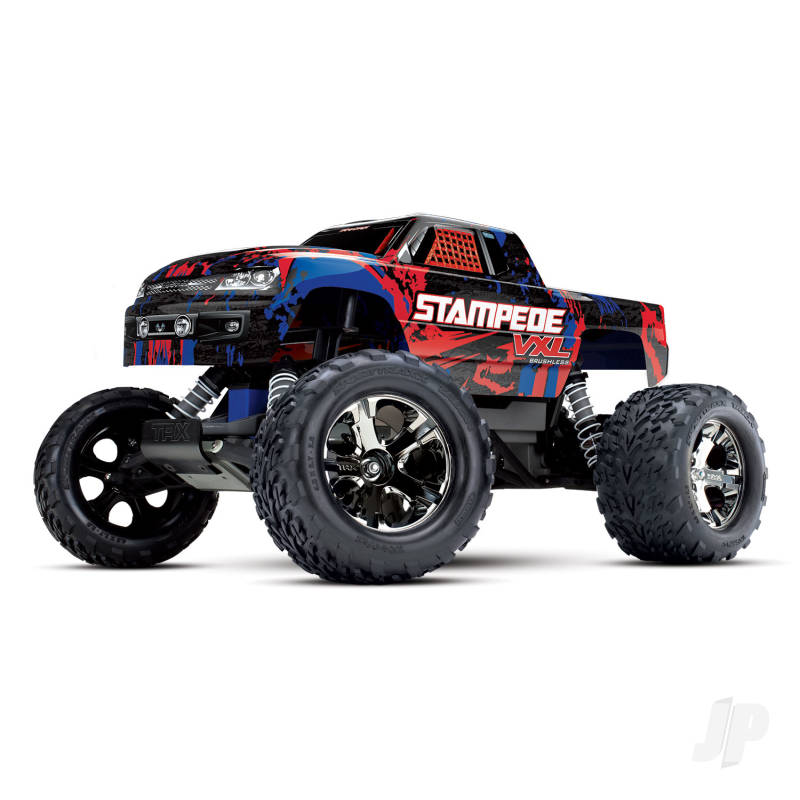 Red Stampede VXL 1:10 Monster Truck (+ TQi ,TSM)