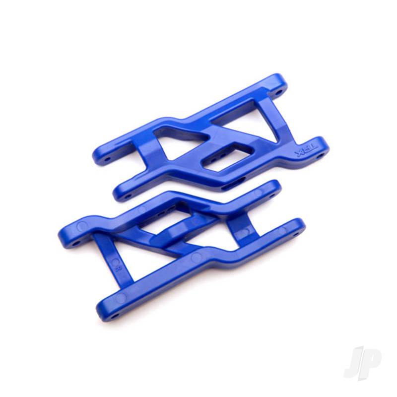 Suspension arms, front (blue) (2) (heavy duty, cold weather material)