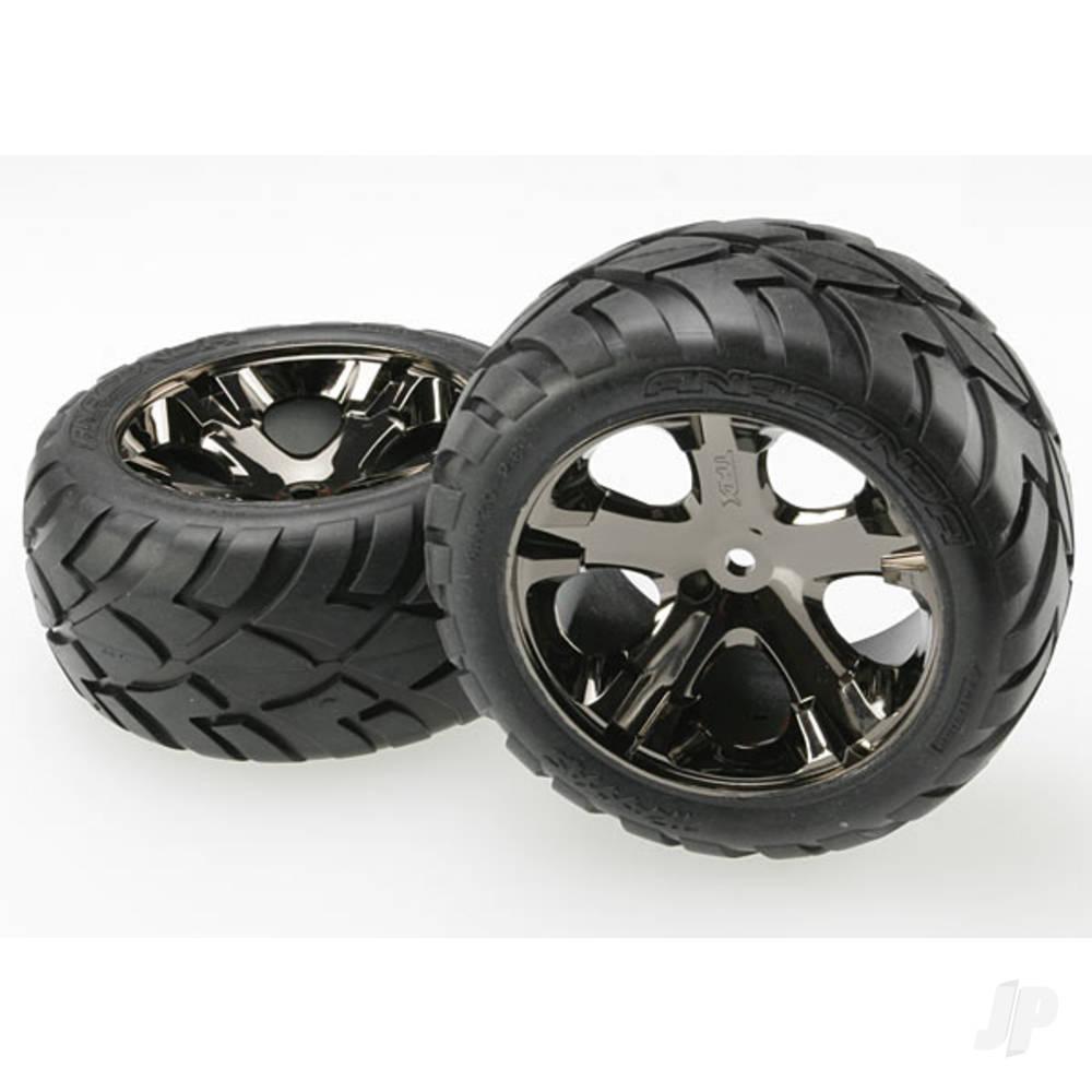 All-Star black-chrome wheels (Pair)