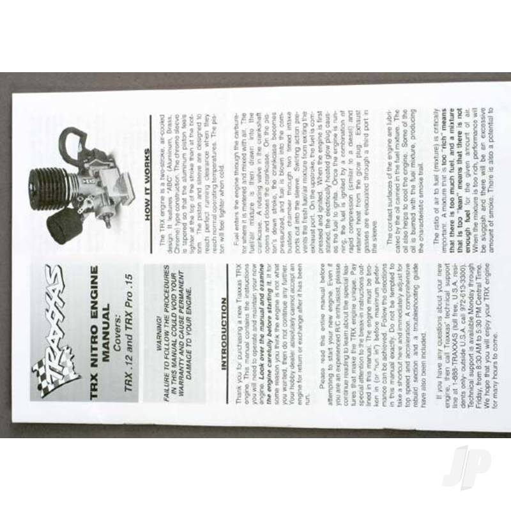 Engine manual, TRX