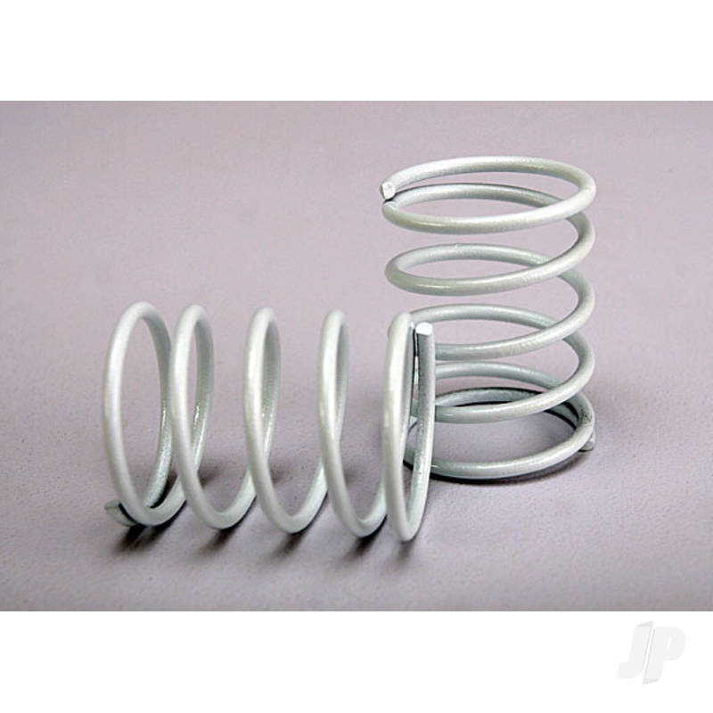 Springs, white (front & rear) (2pcs)