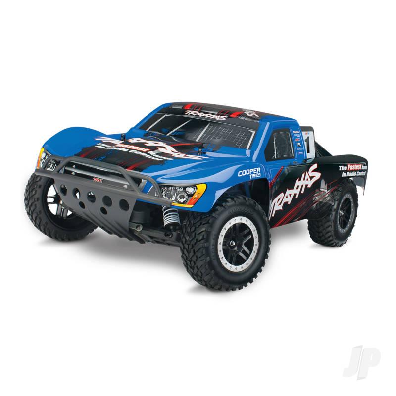 Blue Nitro Slash 1:10 Nitro-Powered 2WD Short Course Racing Truck (+ TQi, TSM)