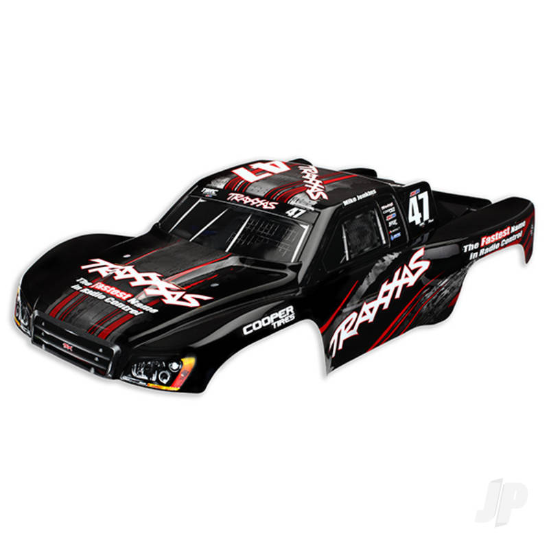 Body, Nitro Slash, #47 Mike Jenkins (painted, decals applied)