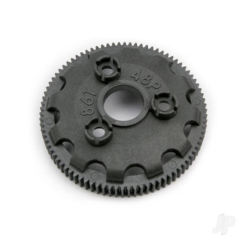 Spur 86-tooth (48-pitch) (for models with Torque-Control slipper clutch)