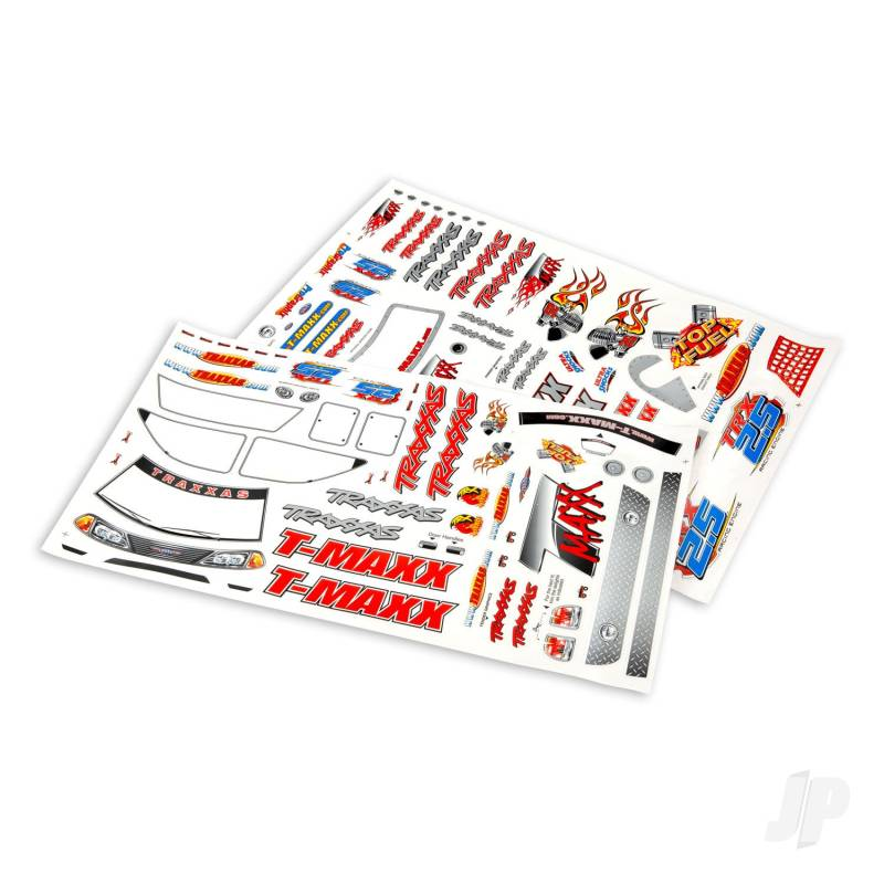 Decal sheet, T-Maxx (use with 4911X body)
