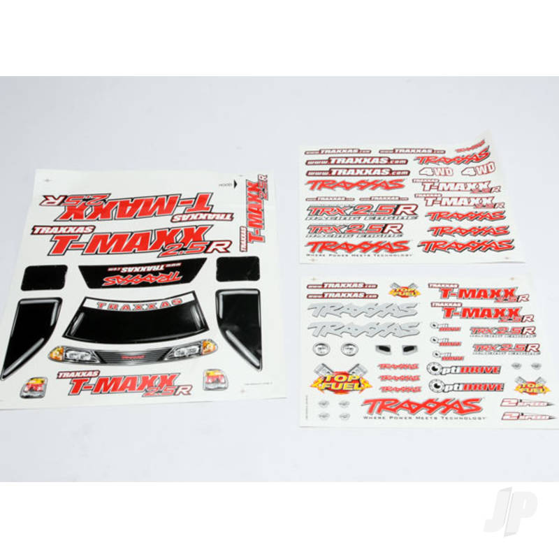 Decal Sheet, T-Maxx 2.5R