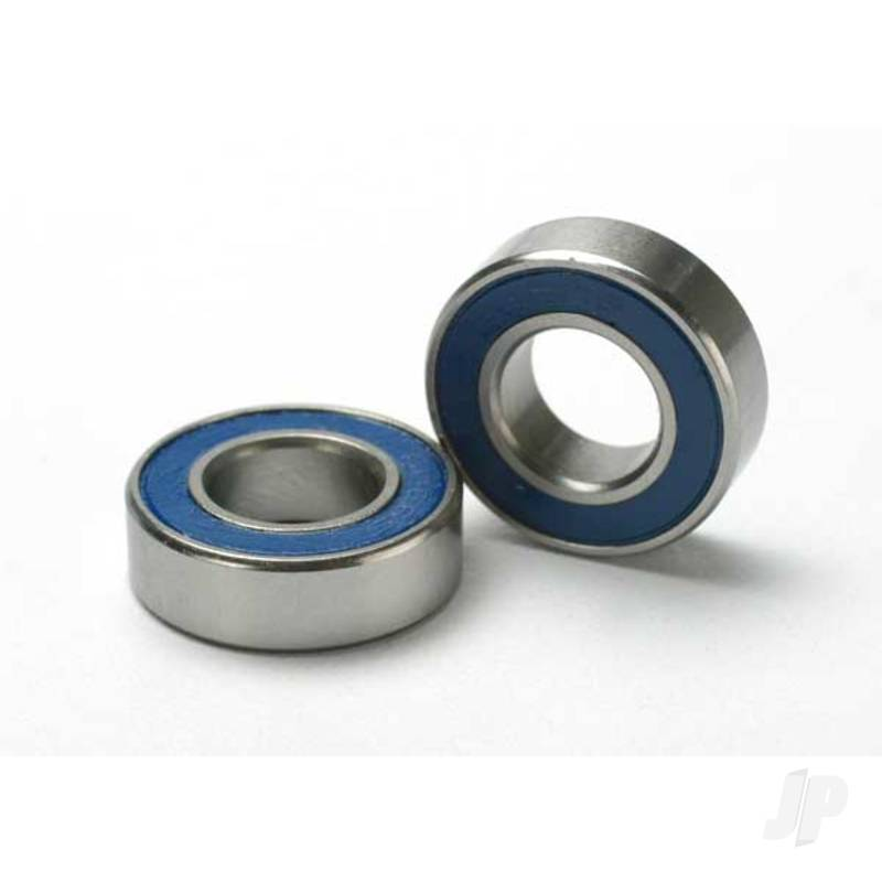 Ball bearings, blue rubber sealed (8x16x5mm) (2pcs)