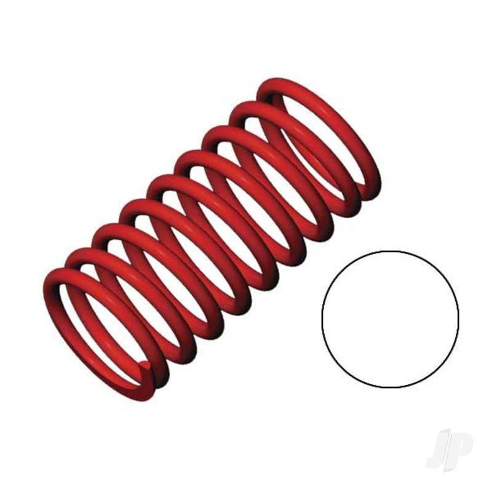 Spring, shock (red) (GTR) (2.9 rate white) (1 pair)
