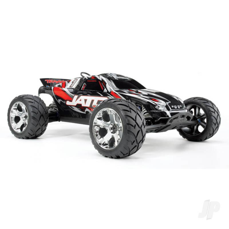 Red Jato 3.3 1:10 2-Speed Nitro-Powered 2WD Stadium Truck (+ TQi, Wireless Module, TSM)