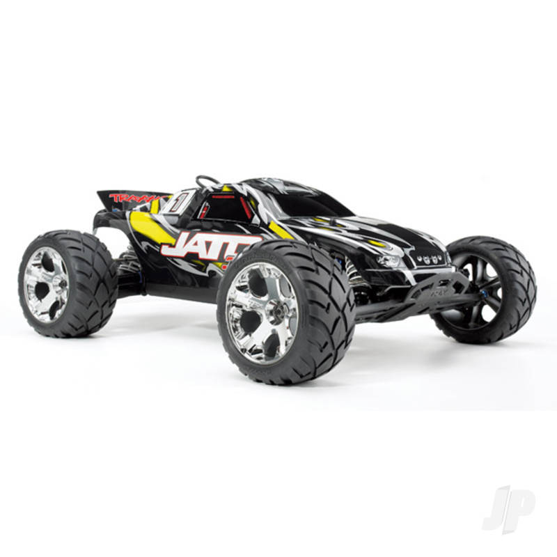 Yellow Jato 3.3 1:10 2-Speed Nitro-Powered 2WD Stadium Truck (+ TQi, Wireless Module, TSM)