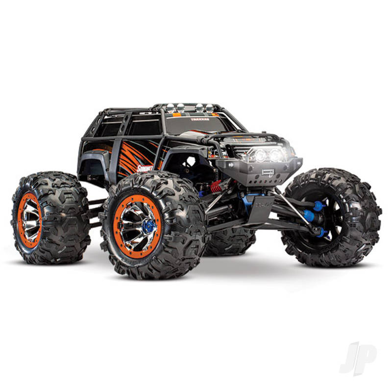Orange Summit 1:10 4WD Electric Extreme Terrain Monster Truck (+ TQi)
