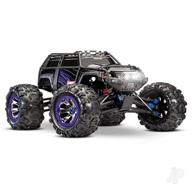 Purple Summit 1:10 4WD Electric Extreme Terrain Monster Truck (+ TQi)