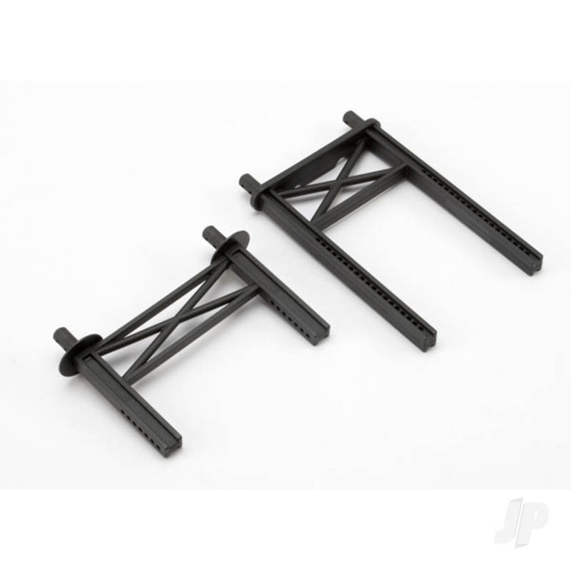 Body mount posts, front & rear (tall, for Summit)