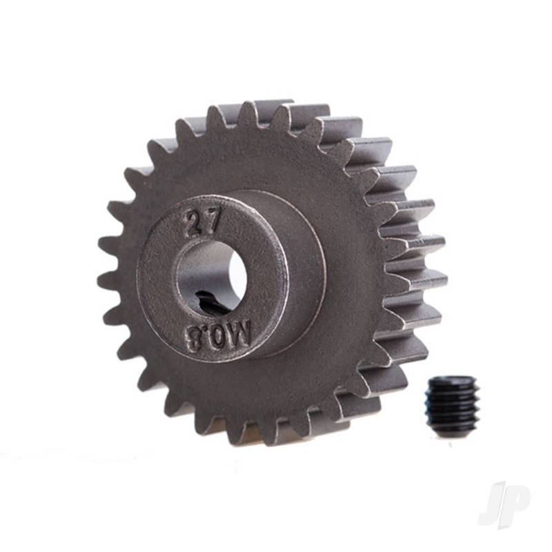27-T Pinion Gear (0.8 metric pitch) Set (fits 5mm shaft)
