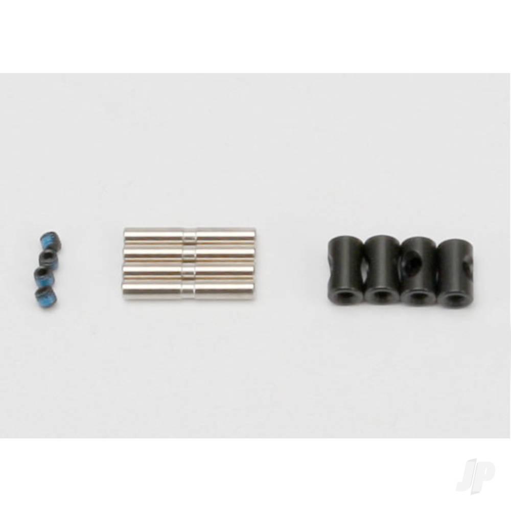 Cross pin (4pcs) / drive pin (4pcs) / set screw (4pcs) (to rebuild 2 driveshafts)