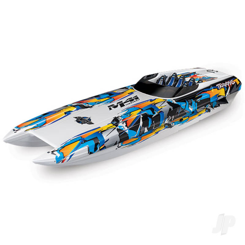 Orange DCB M41 Widebody Brushless 40in RTR Race Boat (+ TQi, CC 540XL, Marine VXL-6s, TSM, factory-applied graphics)