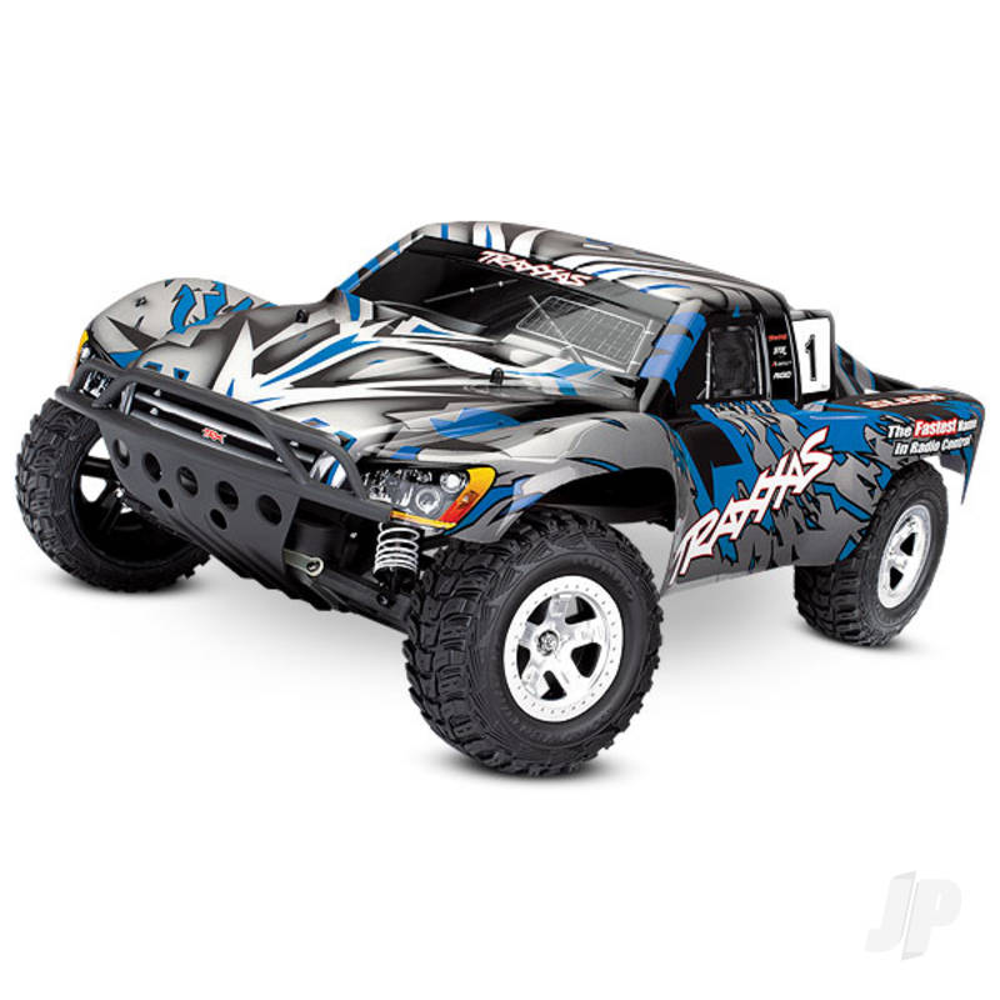 Blue Slash 1:10 2WD Short Course Racing Truck (+ TQ)