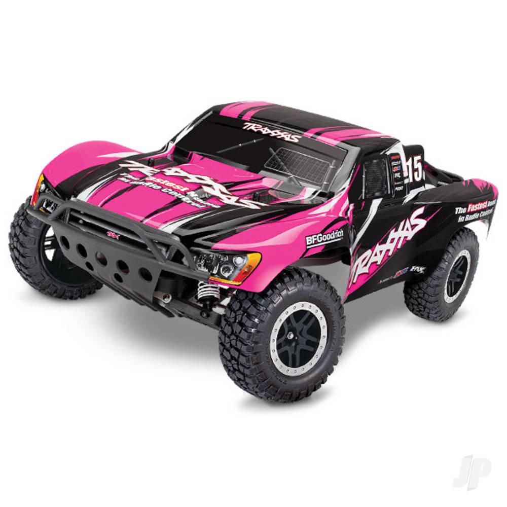 Pink Slash 1:10 2WD Short Course Racing Truck (+ TQ)