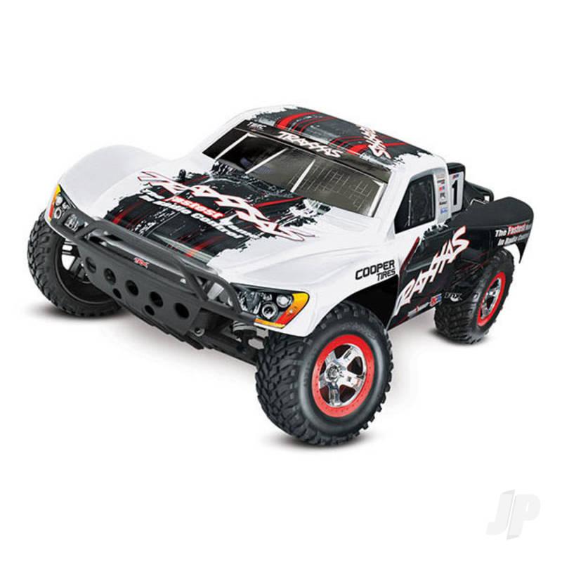 White Slash 1:10 2WD Short Course Racing Truck (+ TQ, OBA)