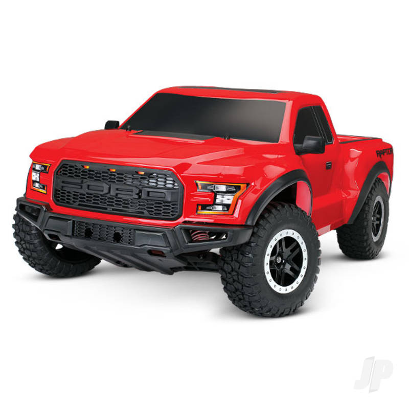 Red Ford F-150 Raptor 1:10 2WD RTR (+ TQ, Titan 550, XL-5, 7-Cell NiMH, DC Charger)