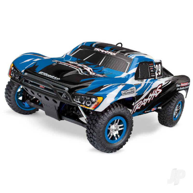 Blue Slayer Pro 4X4 1:10 RTD Nitro Short Course Racing Truck (+ TQi, TSM)