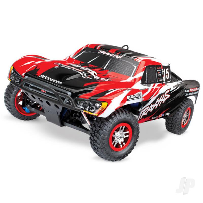 Red Slayer Pro 4X4 1:10 Nitro Short Course Racing Truck (+ TQi, TSM)