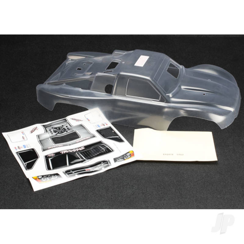 Body, Slayer Pro 4X4 (clear, requires painting) / window masks / decal sheets