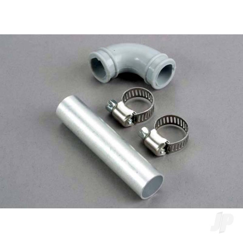Exhaust pipe / fastener ring