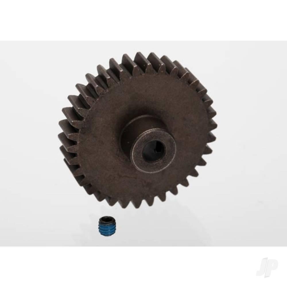 Gear, 34-T pinion (1.0 metric pitch) (fits 5mm shaft) / set screw