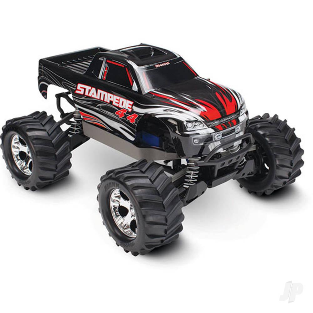Black Stampede 4X4 1:10 4WD Monster Truck