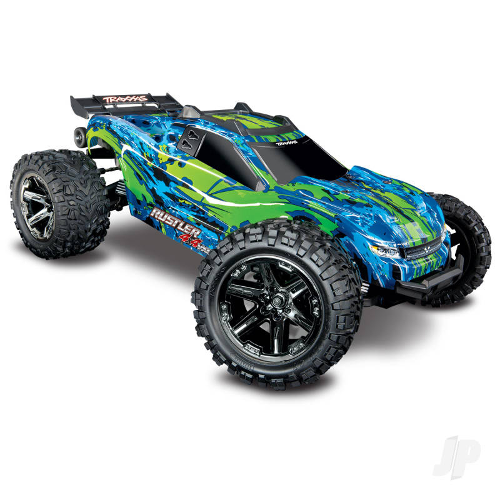 Green Rustler 4X4 VXL 1:10 Stadium Truck RTR (+ TQi, VXL-3s, TSM)