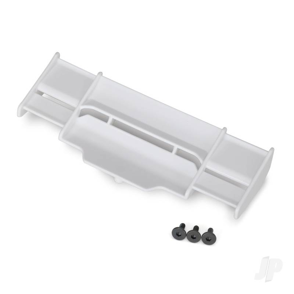 Wing, Rustler 4X4 (white) / 3x8 FCS (3pcs)