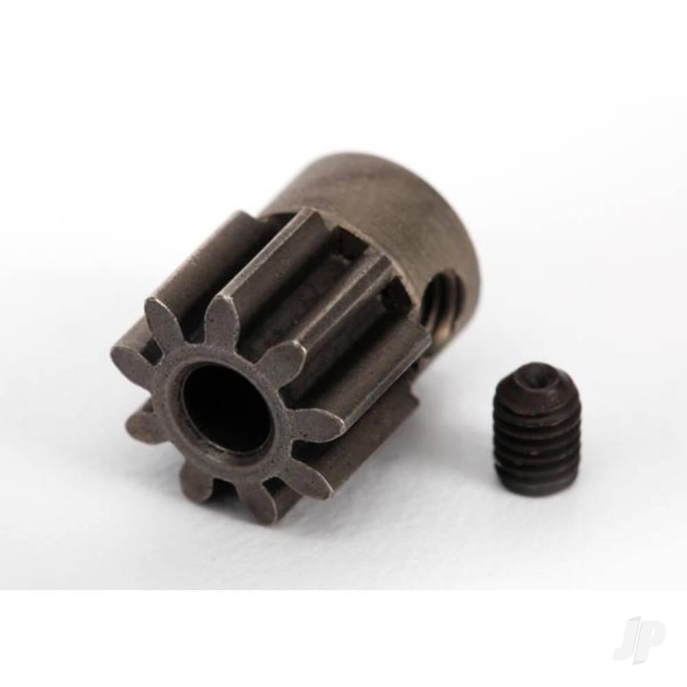 Gear, 9-T pinion (32-p) (steel) / set screw