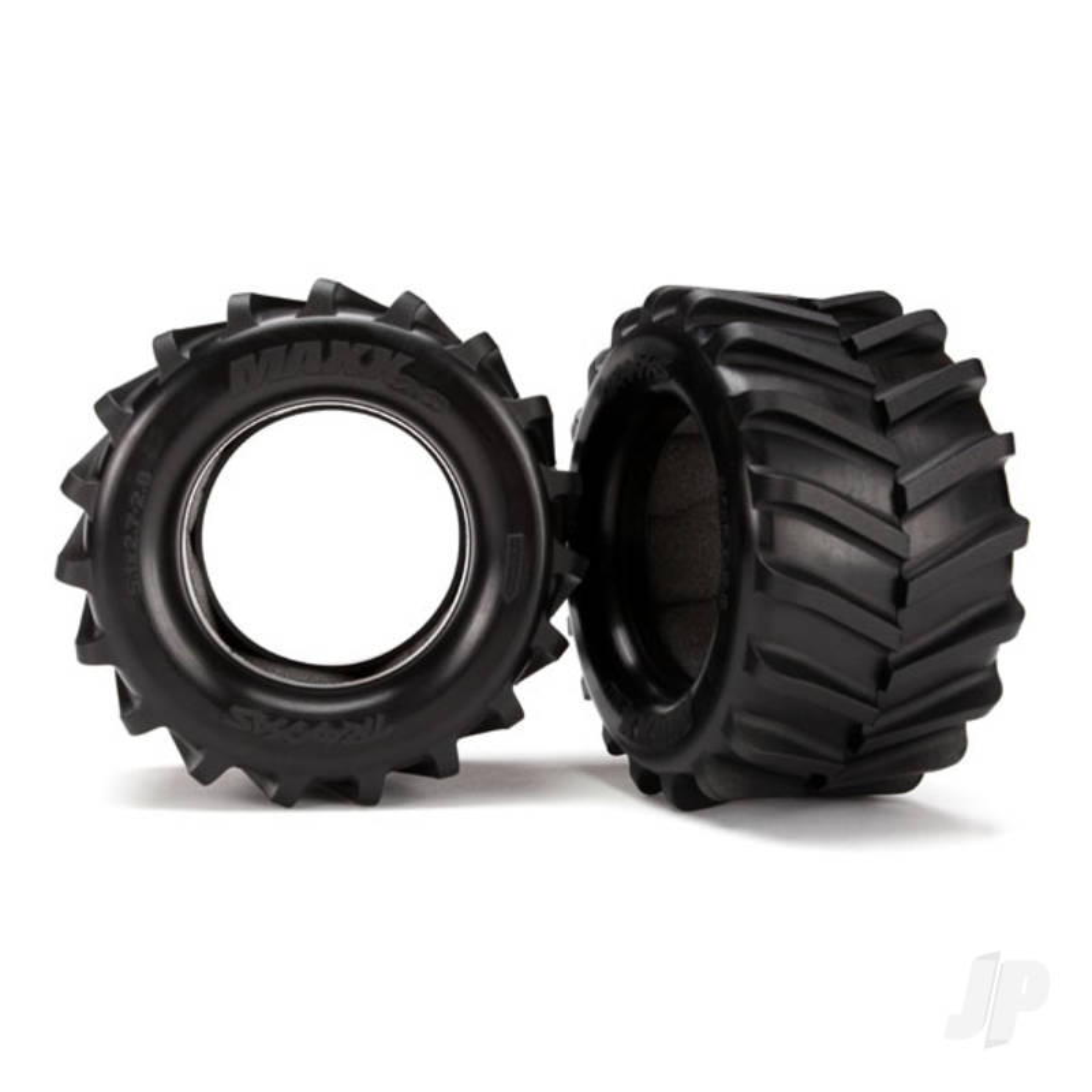Tires, Maxx 2.8in (2pcs) / foam inserts (2pcs)