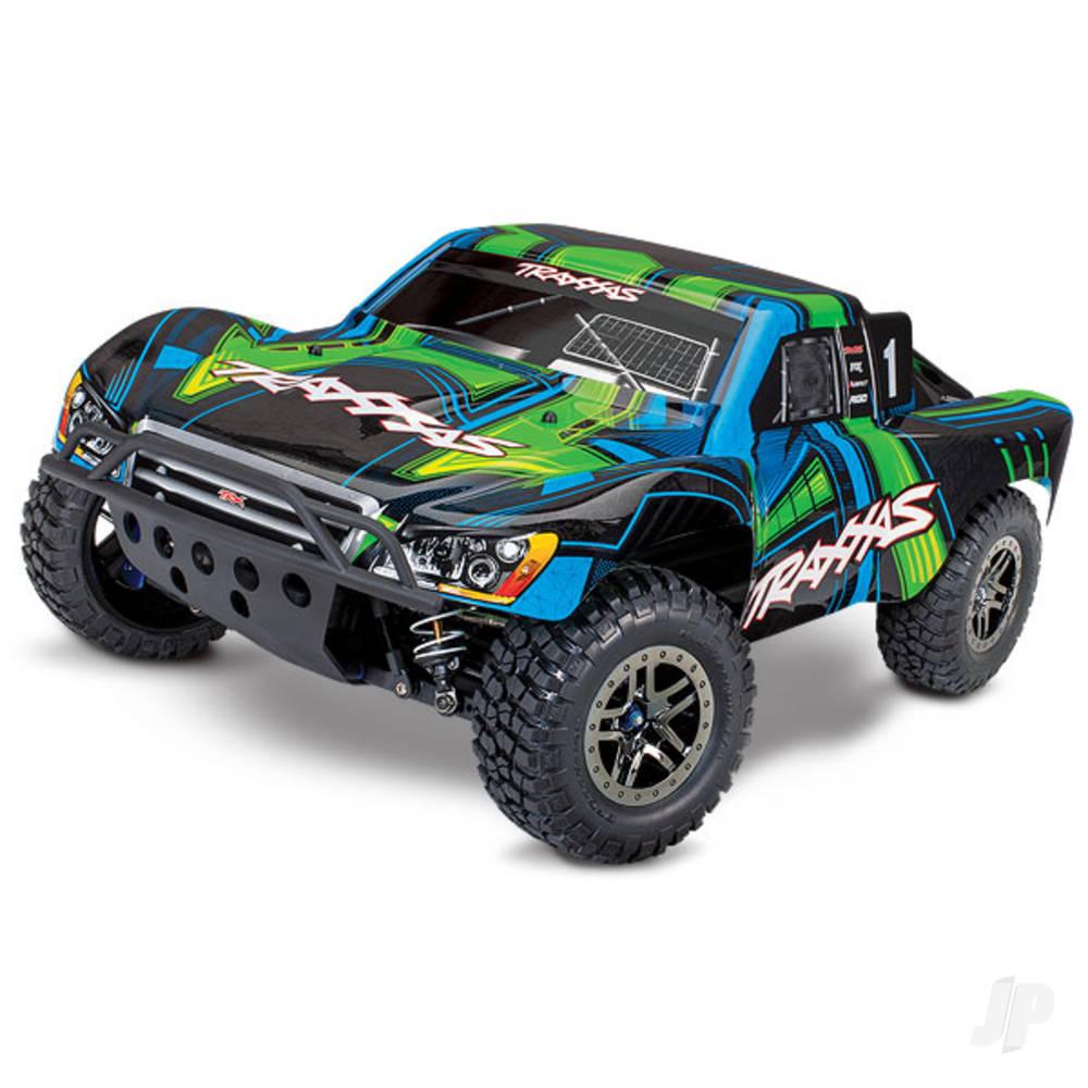 Green Slash 4X4 Ultimate 1:10 4WD Electric Short Course Truck (+ TQi, Wireless Module, TSM)