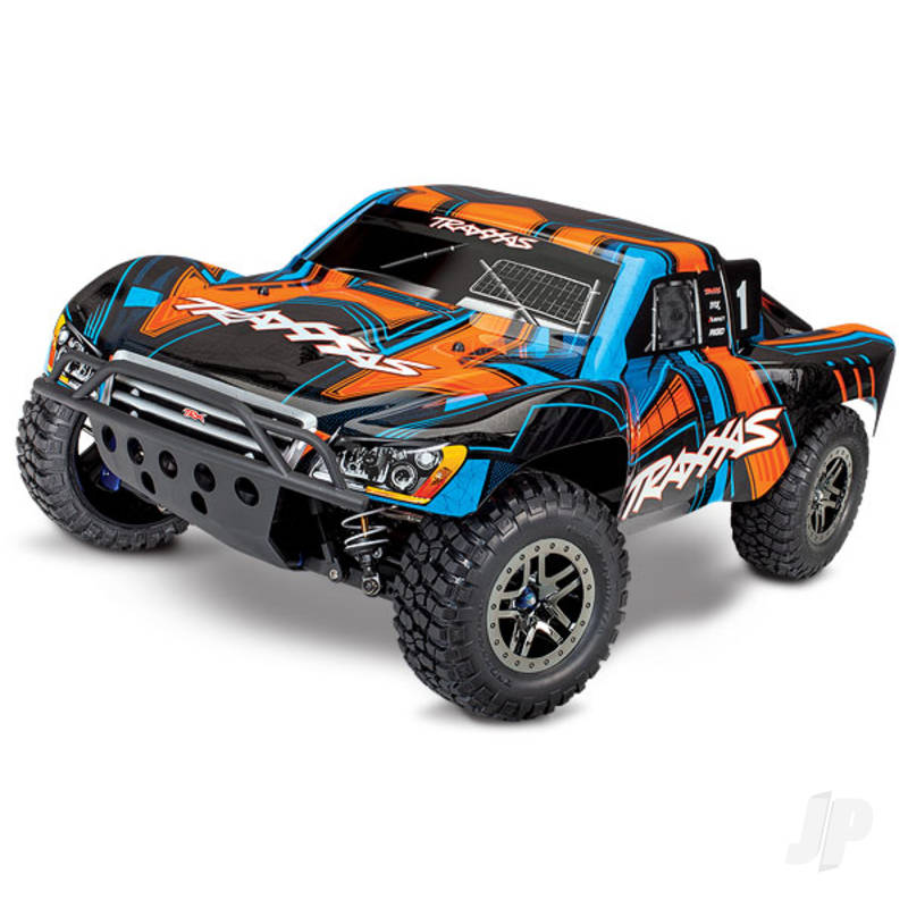 Orange Slash 4X4 Ultimate 1:10 4WD Electric Short Course Truck (+ TQi, Wireless Module, TSM)