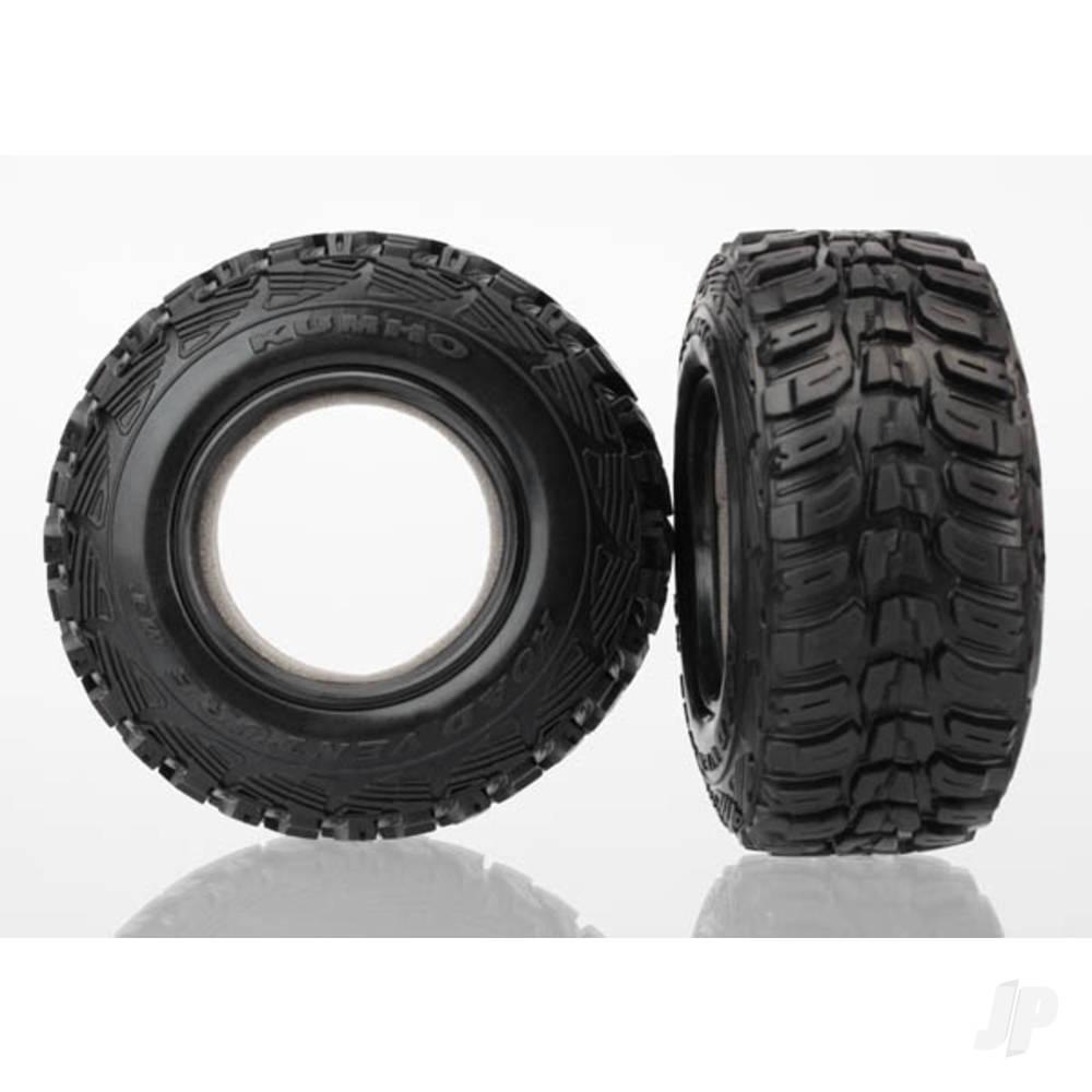 Tyres, Kumho (dual profile 4.3x1.7- 2.2 / 3.0in) (2pcs) / foam inserts (2pcs)