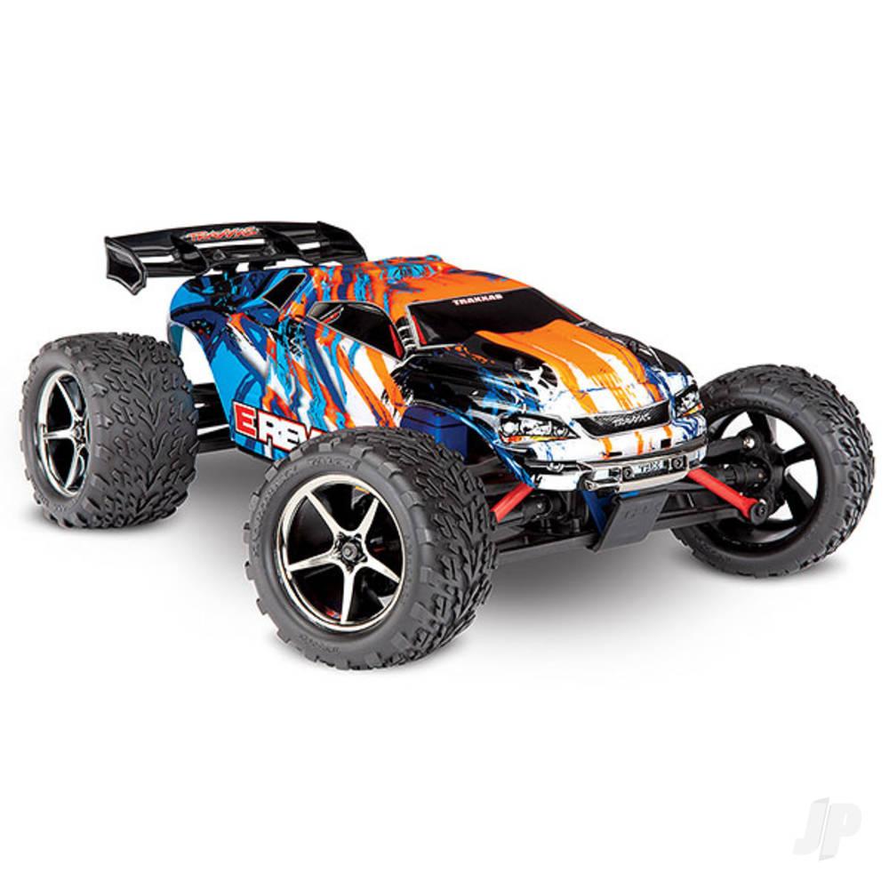 Orange/Blue E-Revo 1:16 Scale 4WD Racing Monster Truck (+ TQ)