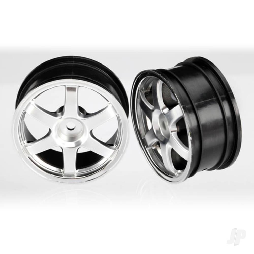 Wheels, Volk Racing TE37 (satin chrome / chrome) (2pcs)