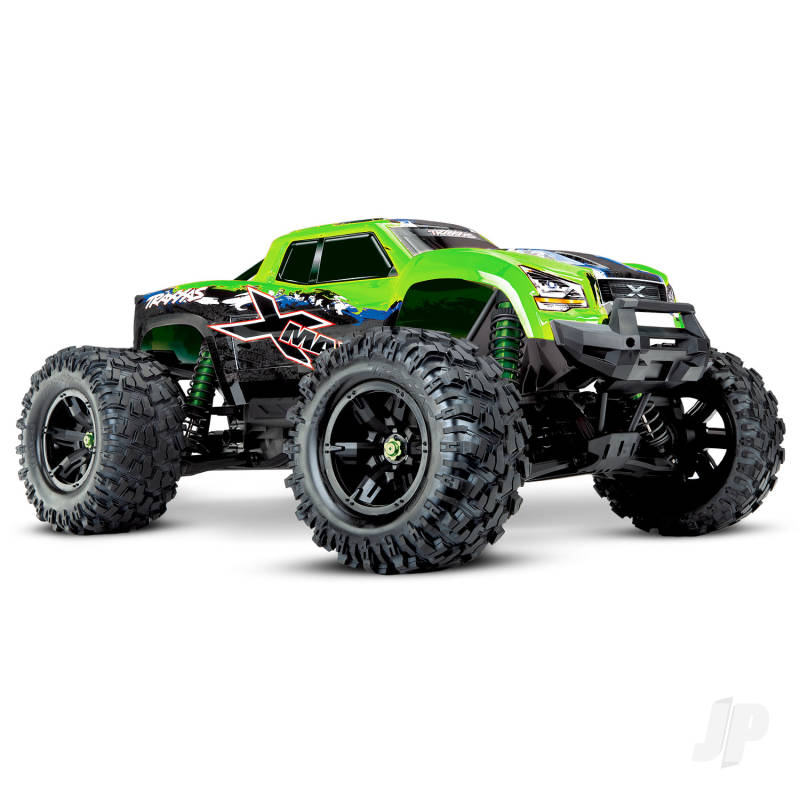 Green X-Maxx Brushless Electric Monster Truck (+ TQi, VXL-8s, TSM)