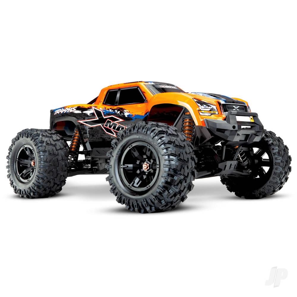 OrangeX X-Maxx Brushless Electric Monster Truck (+ TQi, VXL-8s, TSM)