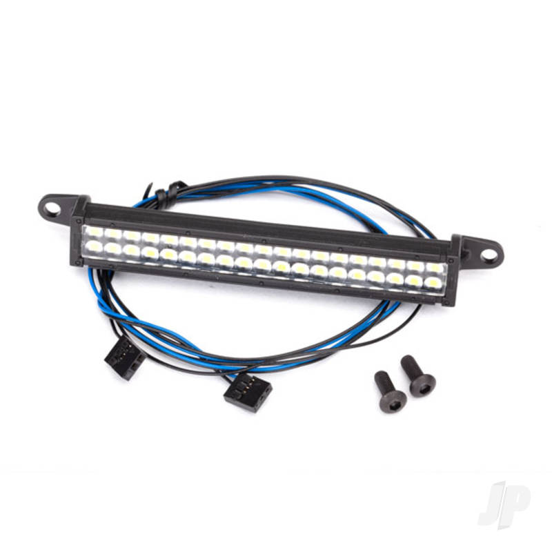 LED light bar, front bumper (fits #8124 front bumper, requires #8028 power supply)