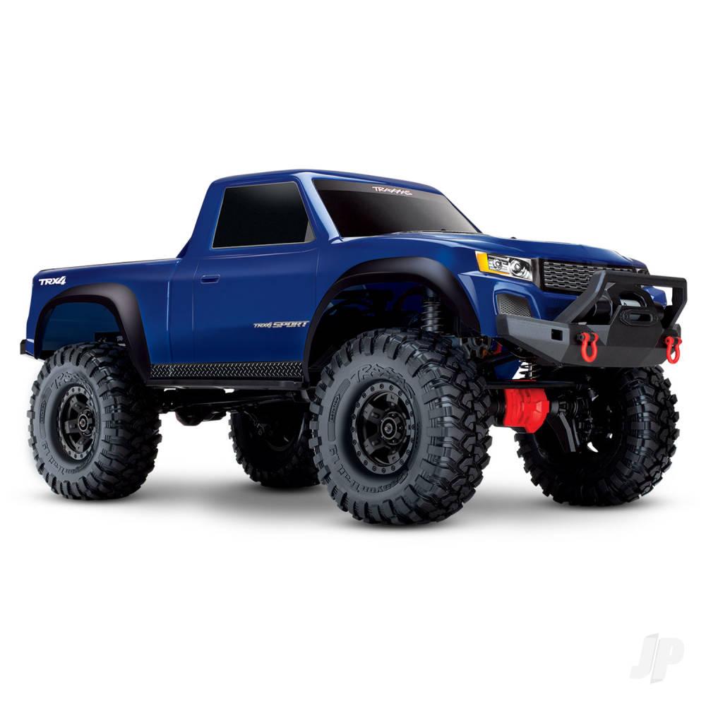 Blue TRX-4 Sport 1:10 4WD Electric Truck RTR (+ TQ, XL-5 HV, Titan 550)