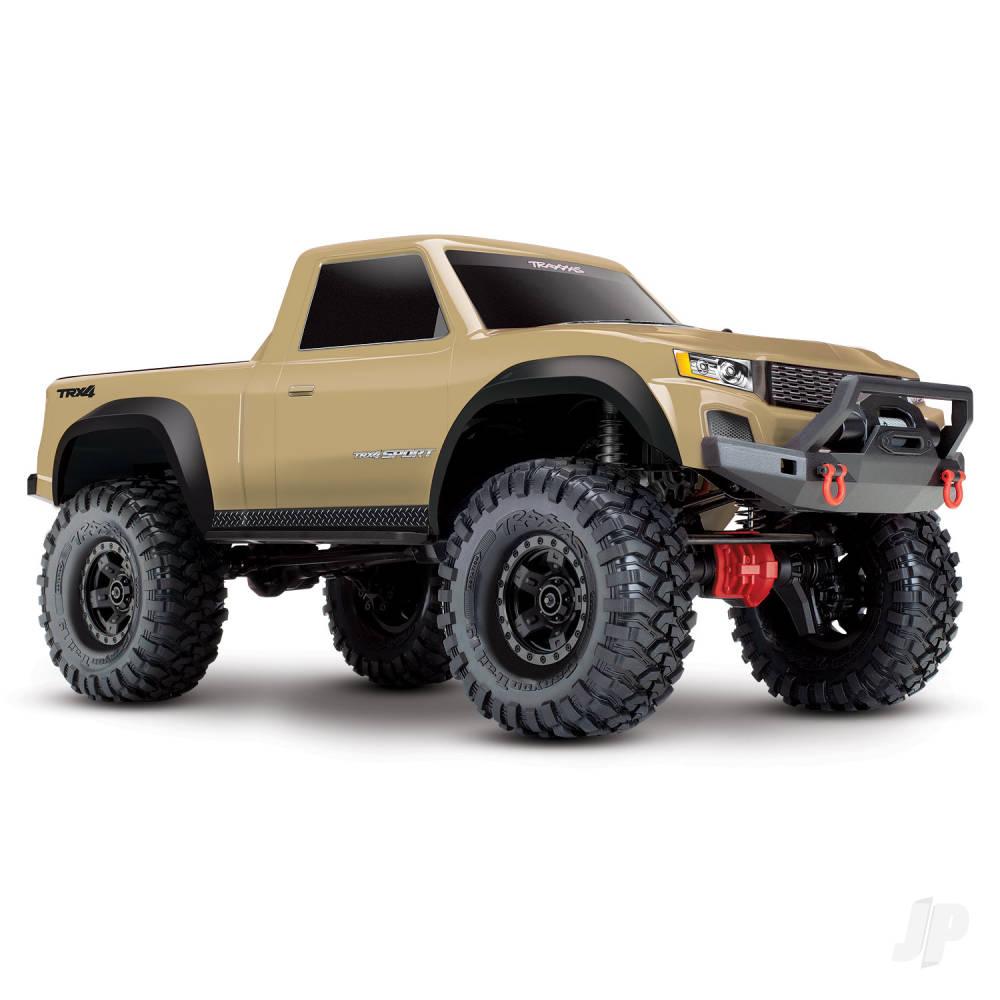 Tan TRX-4 Sport 1:10 4WD Electric Truck RTR (+ TQ, XL-5 HV, Titan 550)