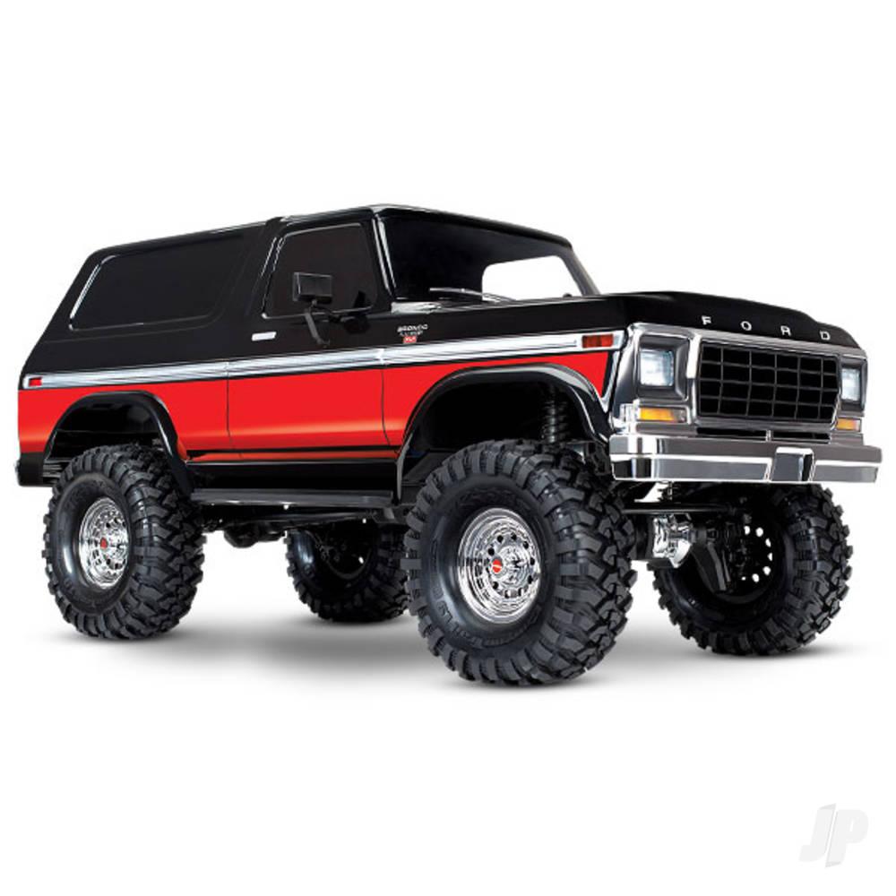 Red TRX-4 Ford Bronco 1:10 RTD 4X4 Electric Trail Truck (+ TQi, XL-5 HV, Titan 550)