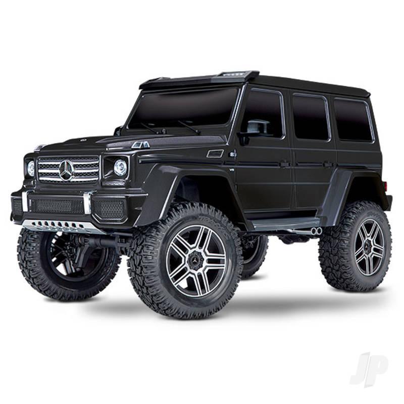 Black TRX-4 Mercedes-Benz G 500 4X4 1:10 RTD Electric Trail Truck (+ TQi, XL-5 HV, Titan 550)