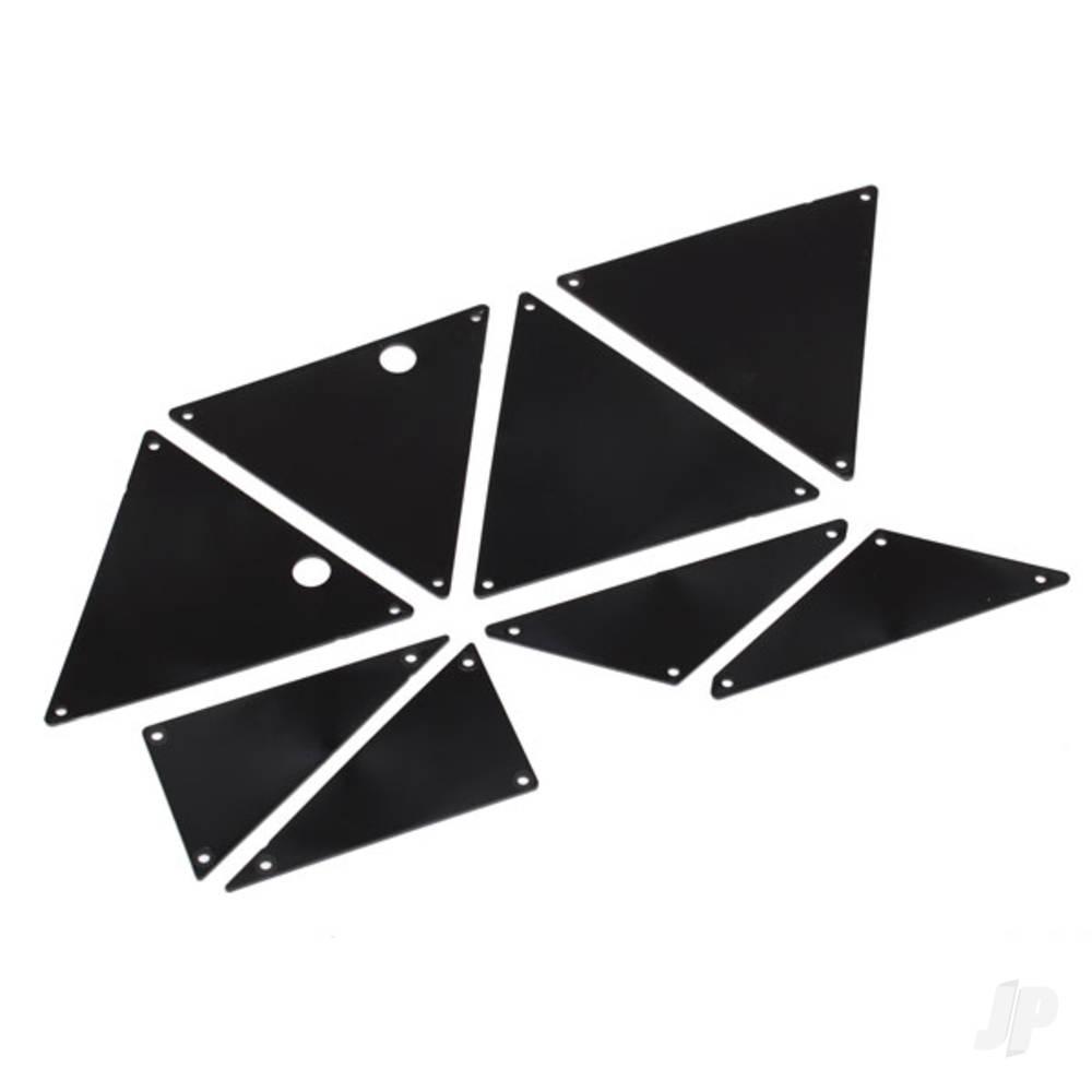 Tube chassis, inner panels (front (2pcs) / middle (4pcs) / rear (2pcs))